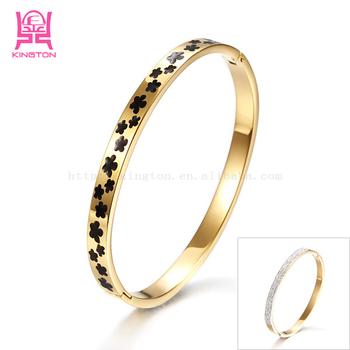 Wholesale 18k Gold Italian Gold Jewelry Titanium Bracelet Buy
