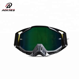 Anti-fog TPU frame latest fashion protective motorcycle riding glasses motocross goggles