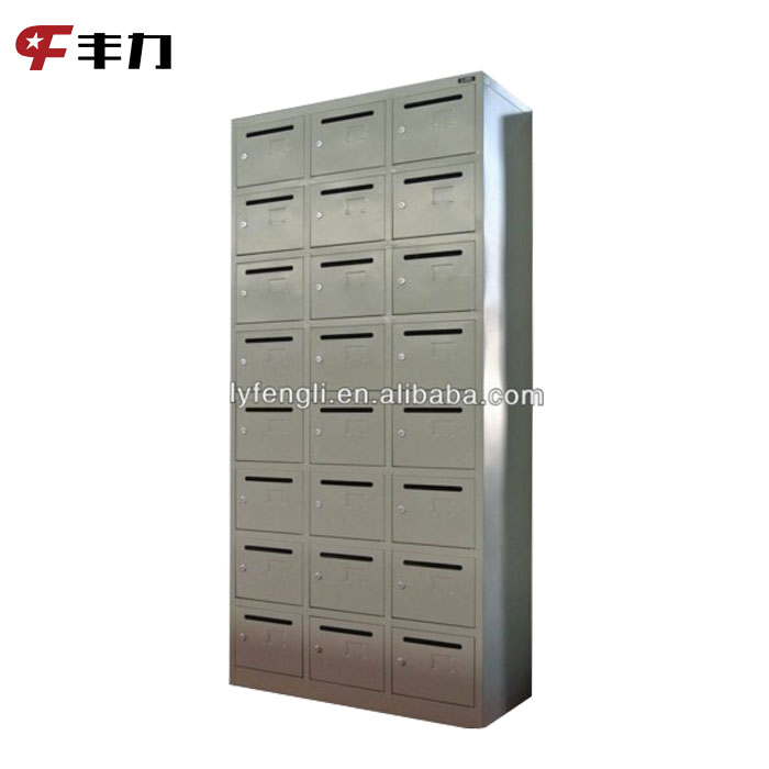 Wholesale Antique 24 Doors Steel Apartment Mailbox for Home