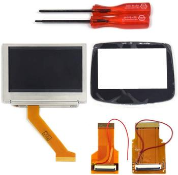 MOD LCD Backlight Kit 32 Pin 40 Pin GBA SP AGS-101 Backlit Screen with Glass Screen Lens Panel for Gameboy Advance