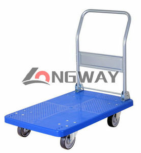 Platform Hand Trolley with TPR caster