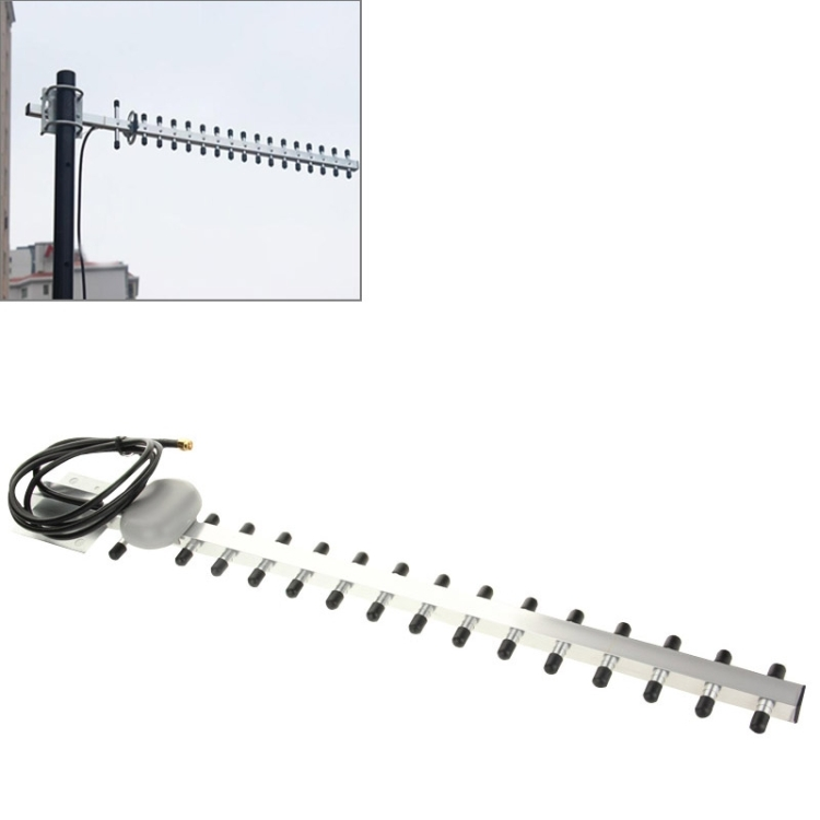 Dropshipping Outdoor High Gain 28dBi SMA Plug 4G 696-960MHz / 1710-2690MHz Yagi <strong>Antenna</strong>