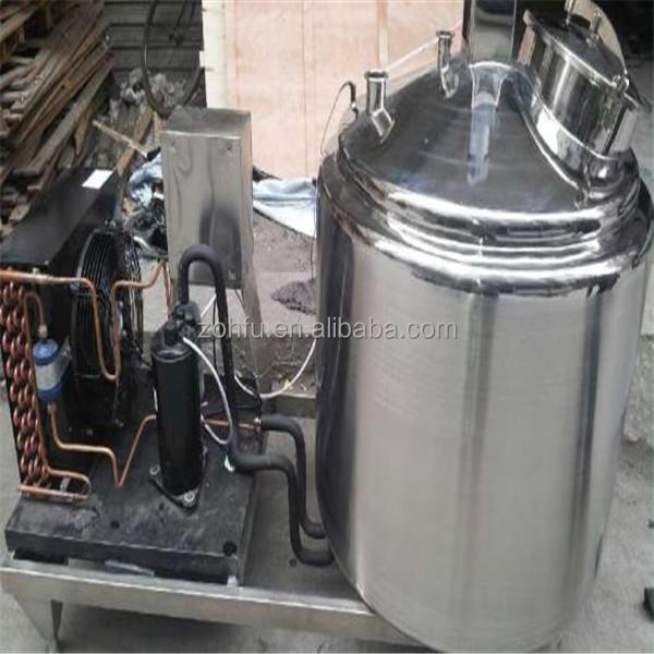 500 Liter Stainless Steel Dairy Milk Cooling Equipment / Milk ...