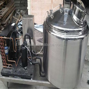 500 liter stainless steel dairy milk cooling equipment / milk cooling tank price