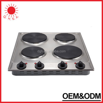 Beau Table Top 4 Burner Electric Stove 110v
