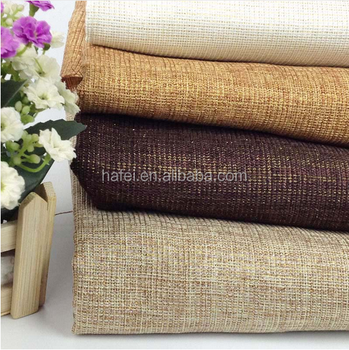 Changshu Materia Waterproof Jute Sofa Fabric