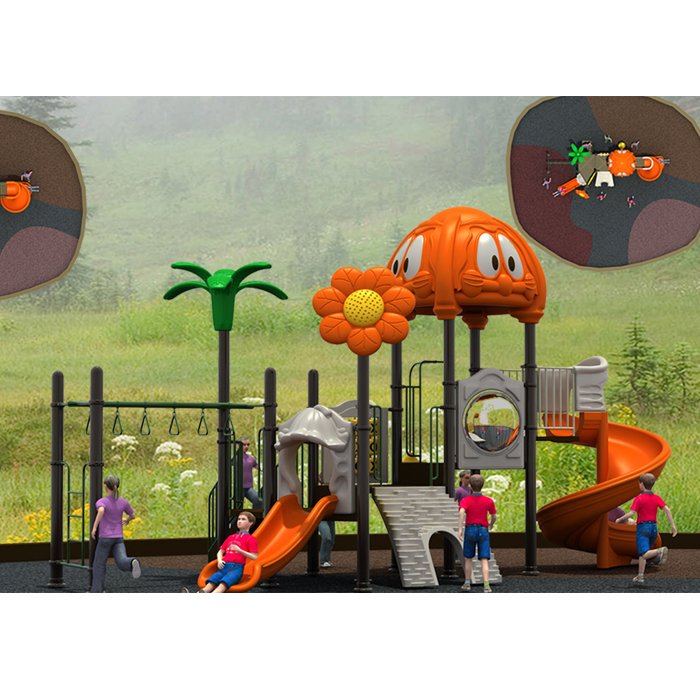 Best Seller plastic residential backyard playgrounds playset