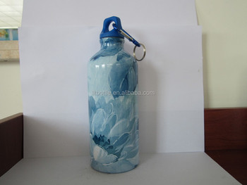 b776cd36d66 18 8 single wall Stainless Steel Water Bottle Canteen - 24oz. Capacity with  full