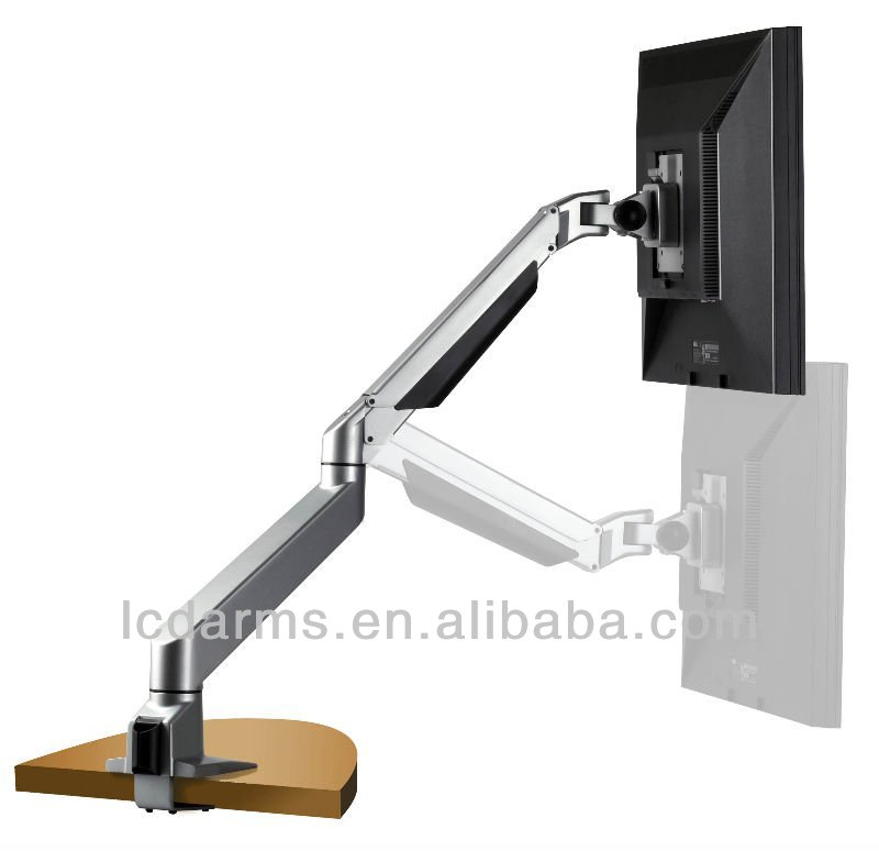 New Flexible Gas Spring Desk Mount Lcd Pc Control - Thinkwise S100 ...