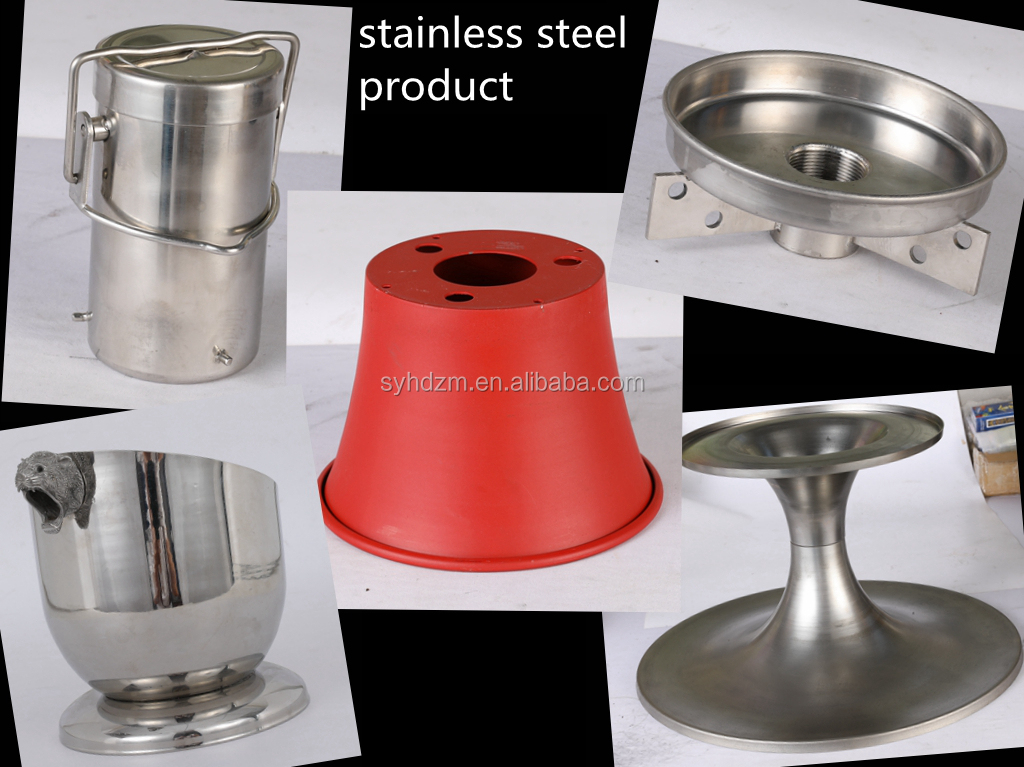 custom metal spinning  high steel iron cone