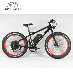 Top e bike 26inch e-bicycle 1000W fat tire ebike mountain electric bike