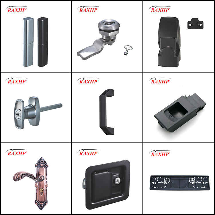 oem custom stainless steel small mini box single lock latch
