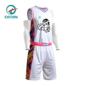 41288add9 China wholesale latest best unique basketball jersey uniform design  sublimation custom basketball jersey