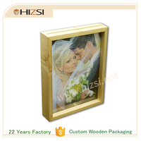 Custom Color Painted Old Wood Photo Frame