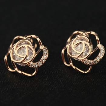 24k Gold Earrings Special For Women