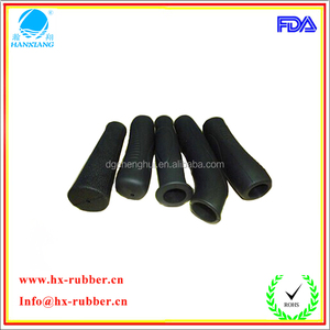 Dongguan factory antiskid wearproof colorful rubber handle grip