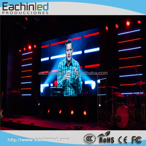 P4.81 foldable led screen stage background led display for singapore