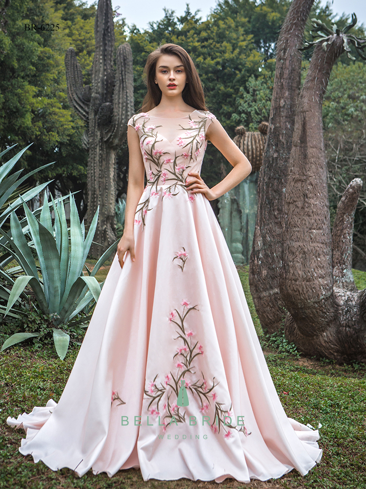 Robe de soirée style asiatique