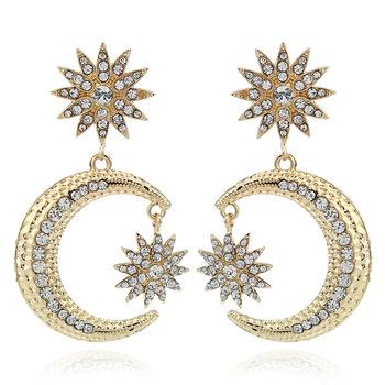 Factory Price Kashmiri Earrings Designs Arabic Dubai Gold Jewelry Earring