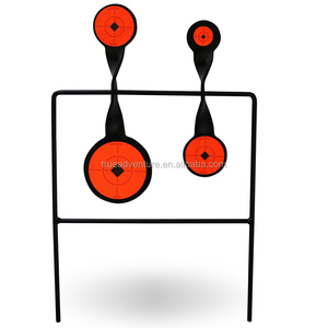 steel spinning hunting shooting rotating target