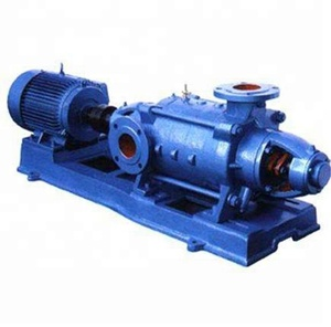 D type multistage centrifugal pump electric fuel pump for hot clean water sand gravel pump for mine