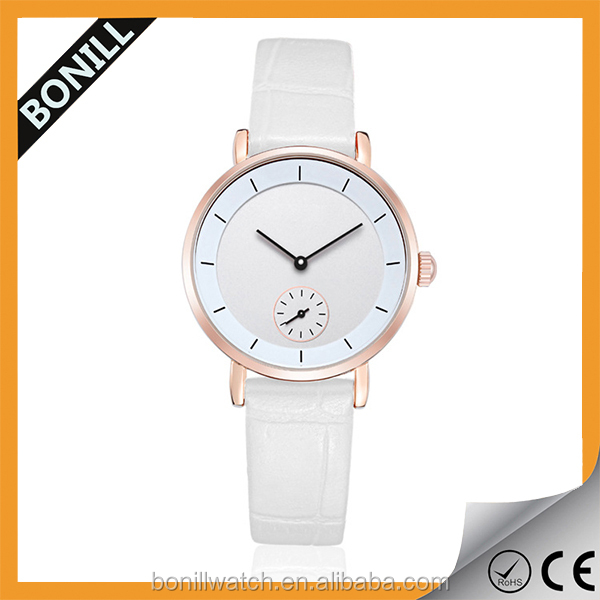 Colorful Christmas gifts watch for lovers quartz movt youngs watch