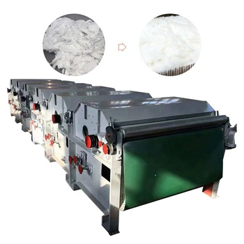 Factory direct supplied staple fiber opening machine fiber carding and clearing machine
