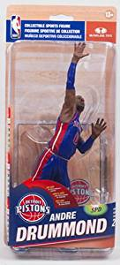 Get Quotations · McFarlane Toys NBA 25 Detroit Pistons Andre Drummond (Blue  Jersey) - Collector Level Gold 3e0c43ae2
