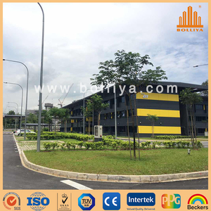 brushed hairline ACM signboard for sign writing