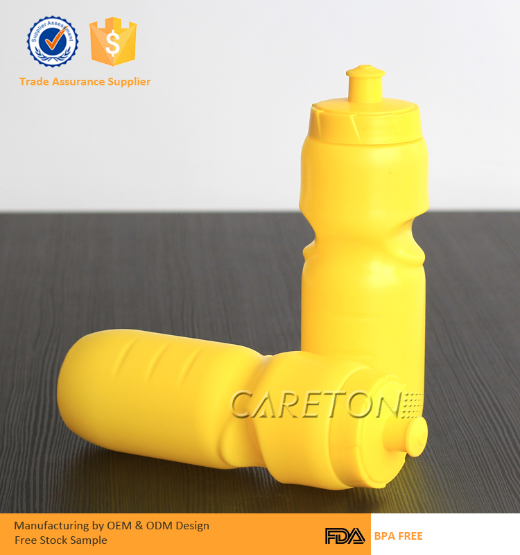 cheap disposable bpa free plastic football hot water bottles