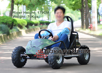 China Export Full Suspension Electric Go Kart