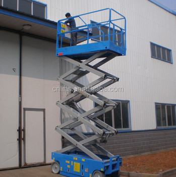 Battery Operated Mobile Scissor Lift Table - Buy Battery Operated Mobile  Scissor Lift Table,Full Electric Scissor Lifts,Electric Scissor Lift  Product