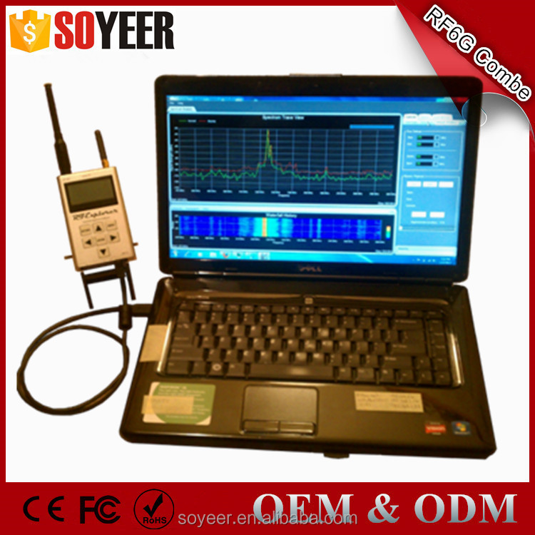 Soyeer Chinese Spectrum Analyzer 6G Combo 15-2700 Mhz And 4850-6100Mhz Rf Spectrum Analyzer
