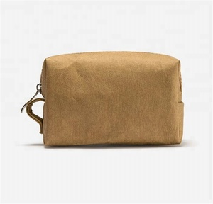 7d90f1b751d8 Best-selling corporate promotional gifts washable kraft paper travel cosmetic  bag