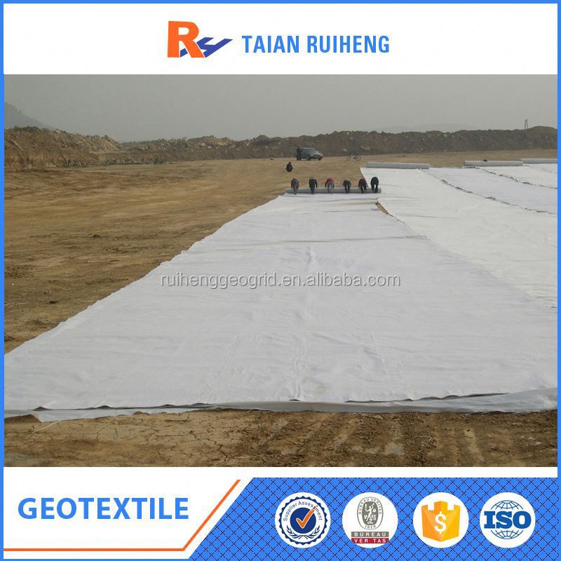 Polyester Needle Punched Nonwoven Geotextile Membrane price