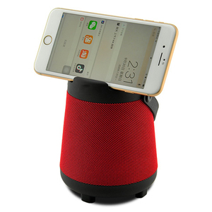 10W X Bass mini speaker with wireless charger function can charging mobile phone without cable holder portable speaker