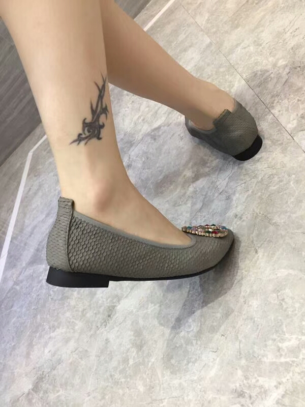 Imported toe fashionable color platform people shoes nude diamond lazy pointed qngqwBfa6