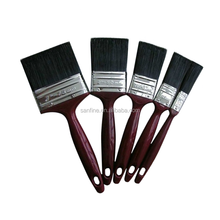 Plastic handle high elasticity china bristle paint brush painting tools