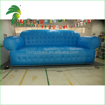 Giant Durable Pvc Strong Resistance Soft Inflatable Sofa Furniture