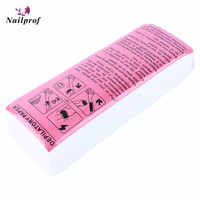 Nailprof Good Quality Disposable Nonwoven Depilatory Wax Strip For Epilator Hair Removal