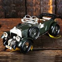 Handmade vintage car models/iron metal crafts for home decor ( SDMC161) handmade retro models