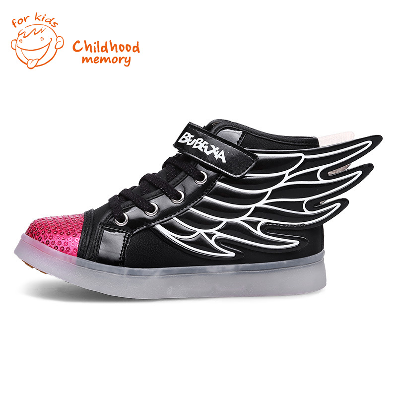 High Top Shoes With Wings