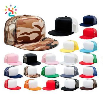 06eac11d 5 Panel Camo Blank Snapback Cap Flat Brim Mesh Trucker Hat,Custom Camo Mesh  Snapback Hats,Foam Flat Brim Mesh Trucker Hat - Buy Custom Camo Mesh ...