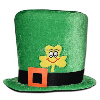 Día De San Patrick De Sombrero Con Trébol Decoración Verde Duende Sombrero Buy St Patricks Día Sombrerost Sombrero Del Día De Patrick Product On
