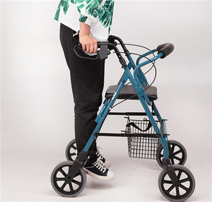 GOGO-Medical walker wheeled walker walker with knee support