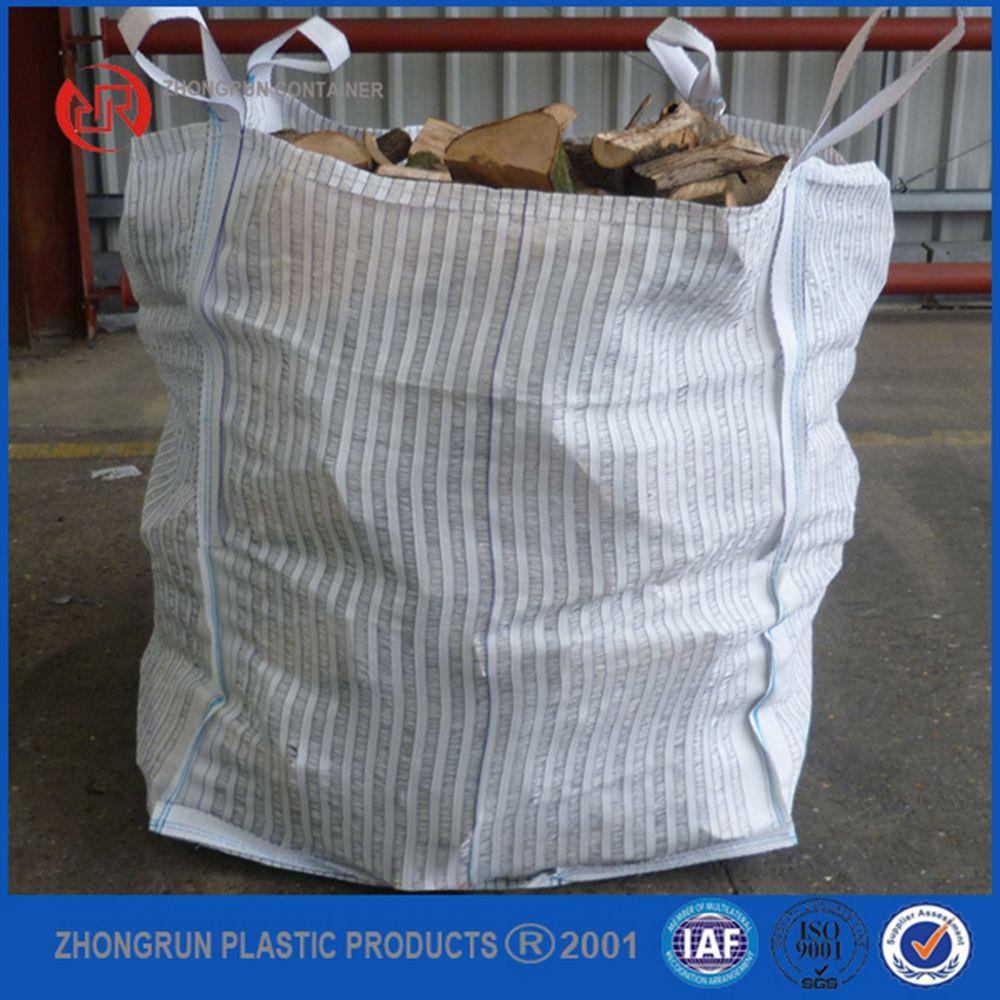 1 ton bolsas de asas ventilado grande bolsa con cubierta - Bolsas para escombros ...