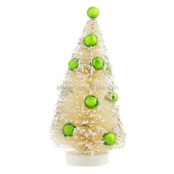 Miniature Christmas Ornaments.Artificial Miniature Sisal Christmas Tree Plastic Christmas Paty Decoration Ornaments Buy Miniature Plastic Tree Sisal Christmas Tree Decorate Mini