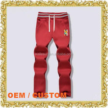 Customized logo baseball pants multi color sweat pants unix bottom ladies suspender trousers
