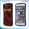 TPU+ IMD Customize Shockproof Armor Phone Case For iPhone 6