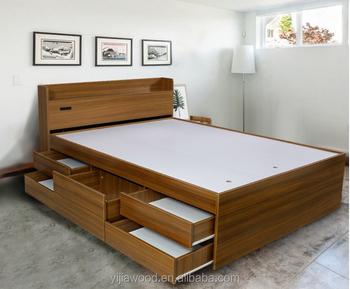 Gut Moderne Bett Mit Schublade Und Lagerung